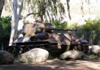 Брошенный танк Т-34-85. Израиль, Северный округ, Метула