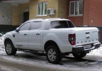 Пикап Ford Ranger #А 002 МН 72. Тюмень, Киевская улица