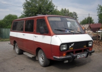 "Микроавтобус РАФ-2203-06 ""Латвия"" #М 780 МА 72. Тюмень, улица Ватутина"
