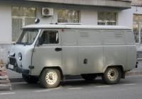 Автозак 19641 на базе цельнометаллического фургона УАЗ-374195 #В 492 СС 72. Тюмень, Рижская улица