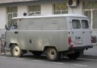 Автозак УАЗ-19641 на базе цельнометаллического фургона УАЗ-3741 #В 492 СС 72. Тюмень, Рижская улица