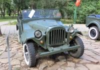 "Военный автомобиль ГАЗ-67Б. Оренбург, парк ""Салют, Победа"""