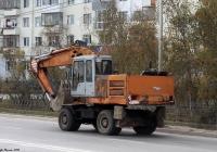 Экскаватор ЭО-33211А #9146РТ14. Якутск, улица Хабарова