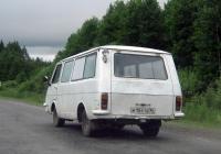 Микроавтобус РАФ-2203 #М 154 ТВ 96. Свердловская область, автодорога Тугулым-Луговской