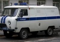 Автозак УАЗ-19729 на базе цельнометаллического фургона УАЗ-3741 #В 0437 72 . Тюмень, Рижская улица