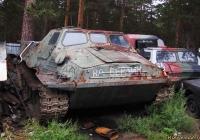 Гусеничный транспортёр ГТ-Т. Алтайский край, Барнаул, шоссе Ленточный бор