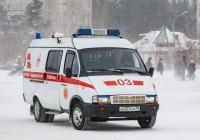 """АСМП ГАЗ-32214 """"Газель"""" #Е 037 СА 70. Томская область, Северск"""