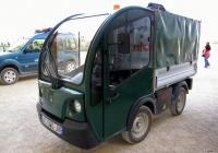 Электрический минигрузовик Goupil G3 #AC-160-JV. Франция, Версаль
