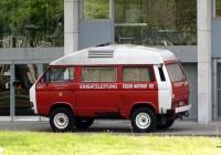 Микроавтобус пожарной охраны Volkswagen Transporter T2-4WD. Германия, Северный-Рейн-Вестфалия, Дюссельдорф