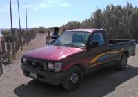 Пикап Toyota Hilux (пятое поколение) #POH 8234. Греция, остров Родос, муниципалитет Родос, Ялисос