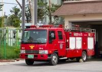 Пожарный автомобиль Woori на шасси Kia Rhino. Корея, Каннын