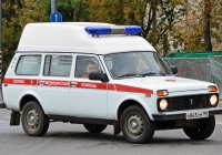 АСМП на базе ВАЗ-2131. Подольск, улица Кирова
