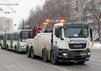 Эвакуатор MAN TGS 41.480. Московская область, Химки, Юбилейный проспект