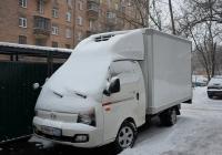 Фургон Hyundai Porter Super II #Е 466 УР 777. Москва, Рижский проезд
