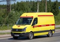 Реанимобиль на базе Volkswagen Crafter #Е 888 МС 70. Томск, улица Клюева