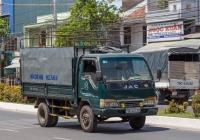 Бортовой грузовик JAC HFC1045KS #79C-041.39. Вьетнам, Нячанг