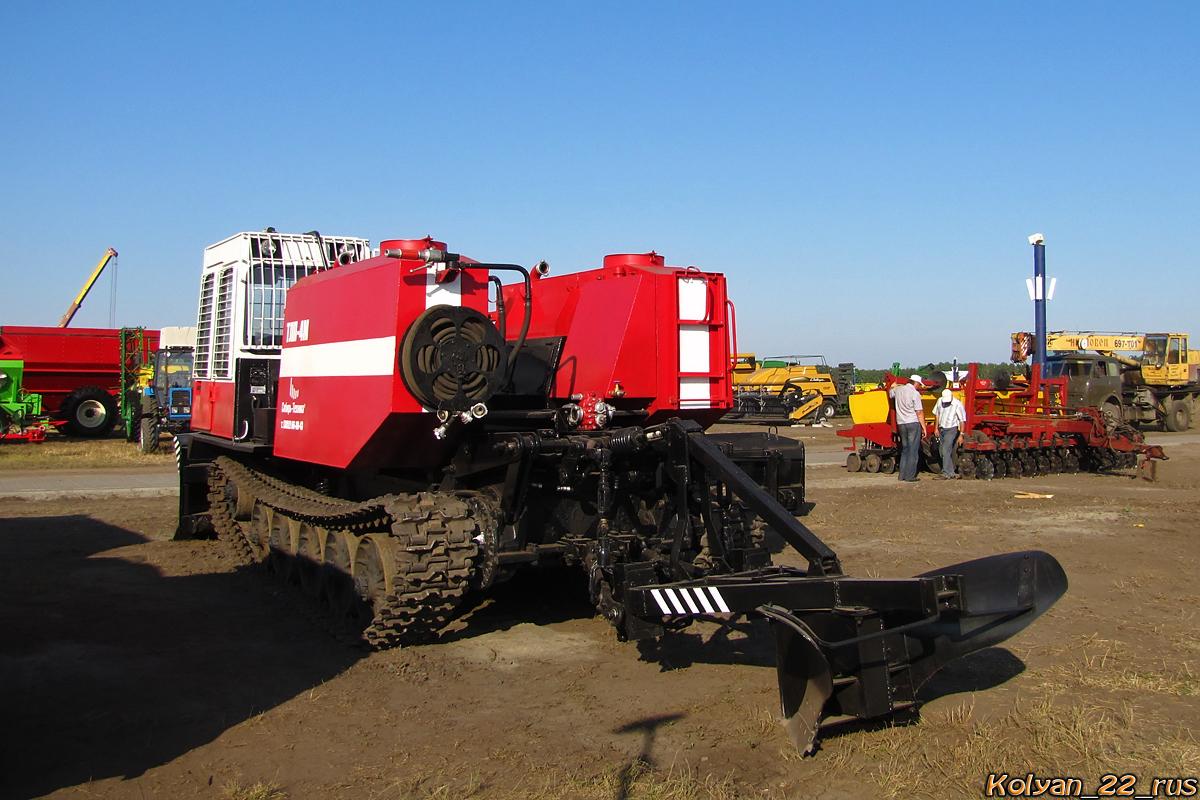 Лесопожарный трактор ТЛП-4М-031. Алтайский край, Павловский район, в окрестностях посёлка Прутской