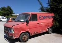 цельнометаллический фургон Ford Transit. Греция, остров Родос, Ялисос