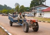 Мотоблок. Лаос, Саваннакет