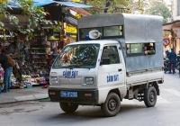 Полицейский автомобиль Suzuki Super Carry #29A-012.66. Вьетнам, Ханой