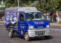Бортовой грузовик Suzuki Carry #5E-9832. Мьянма, Янгон