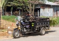 Грузовой мотоцикл Dayun DY150ZH. Мьянма, Дала