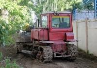 Бульдозер ДТ-75. Могилёв, улица Крупской