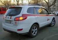 Автомобиль неотложной помощи Hyundai Santa Fe #С 003 УС 96. Екатеринбург (Свердловск)