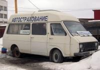 Микроавтобус РАФ-22038-02 #Е 906 АЕ 72  . Тюмень, улица 30 лет Победы