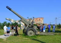 152-мм гаубица-пушка МЛ-20. Хорватия, Карловац, Музей войны за независимость