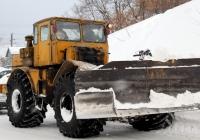Трактор К-701 со снегоуборочным отвалом #2963 ЧЭ. Челябинская область, г.Аша, улица Мира