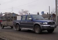 Пикап Mazda B2500 #В 888 РМ 72 с прицепом КМЗ-8136 . Тюмень