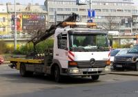 Эвакуатор на базе Mercedes-Benz Atego, #18. Чехия, Прага