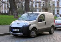 Фургон Peugeot Partner, #9A5 3430. Чехия, Прага