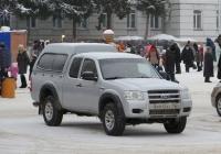 Пикап Ford Ranger #А 645 КУ 45. Курган, улица Гоголя