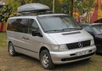 Микроавтобус Mercedes-Benz Vito #2947 KE-4. Курган, Городской сад