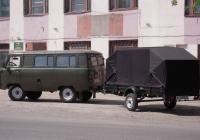 Грузопассажирский фургон УАЗ-3962 #К 164 НА 72 с прицепом КМЗ-8213 #АУ 2888 72  . Тюмень, улица Бакинских комиссаров