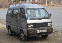 Микроавтобус Daewoo Damas #К 588 ЕУ 45. Курган, улица Савельева