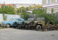 ГАЗ-67Б. Курган, улица Куйбышева