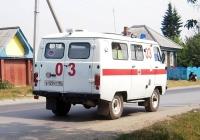 АСМП УАЗ-3962 #Е 129 УТ 96 . Свердловская область, Луговской, Тугулымская улица