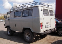 Грузопассажирский фургон УАЗ-39625 #К 222 ТМ 72 . Тюмень, Ямская улица
