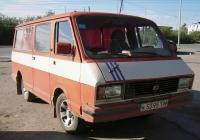 """Микроавтобус РАФ-2203 """"Латвия"""" #К 5395 ТМ . Тюмень, Дамбовская улица"""