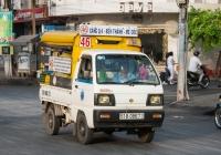 Suzuki Super Carry #51B-086.73, оборудованный для перевозки пассажиров. Вьетнам, Хошимин