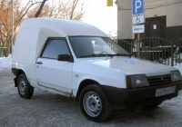 "Фургон ВАЗ-1706 ""Челнок"" #А 419 ВТ 72 . Тюмень, Товарное шоссе"