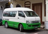 Микроавтобус Toyota Hiace #BJX 2240. Малайзия, Малакка