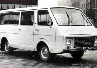 Предсерийный микроавтобус РАФ-2203 #07-13 ЛАГ. Латвия