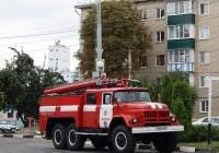 Пожарная автоцистерна АЦ-40(131)-137А на шасси ЗиЛ-131Н # Р 285 АВ 31. Белгородская область, г. Алексеевка, ул. Мостовая