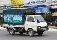 Бортовой тентованный грузовик Kia Ceres #79H-3426. Вьетнам, Нячанг