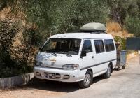 Микроавтобус Hyundai H100 #01 BU 809. Турция, Каш