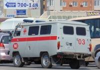 Автомобиль скорой медицинской помощи УАЗ-3962. Омская область, город Омск, улица 70 лет Октября